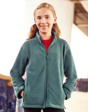 Kinder fleece vest