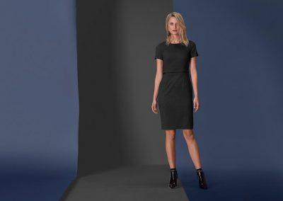 Moderne jurk receptie