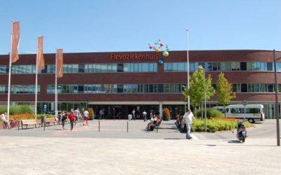 Flevoziekenhuis modern gekleed